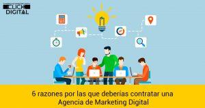 6 razones por las que deberías contratar una agencia de Marketing Digital